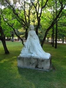 George Sand Jardin du Luxembourg